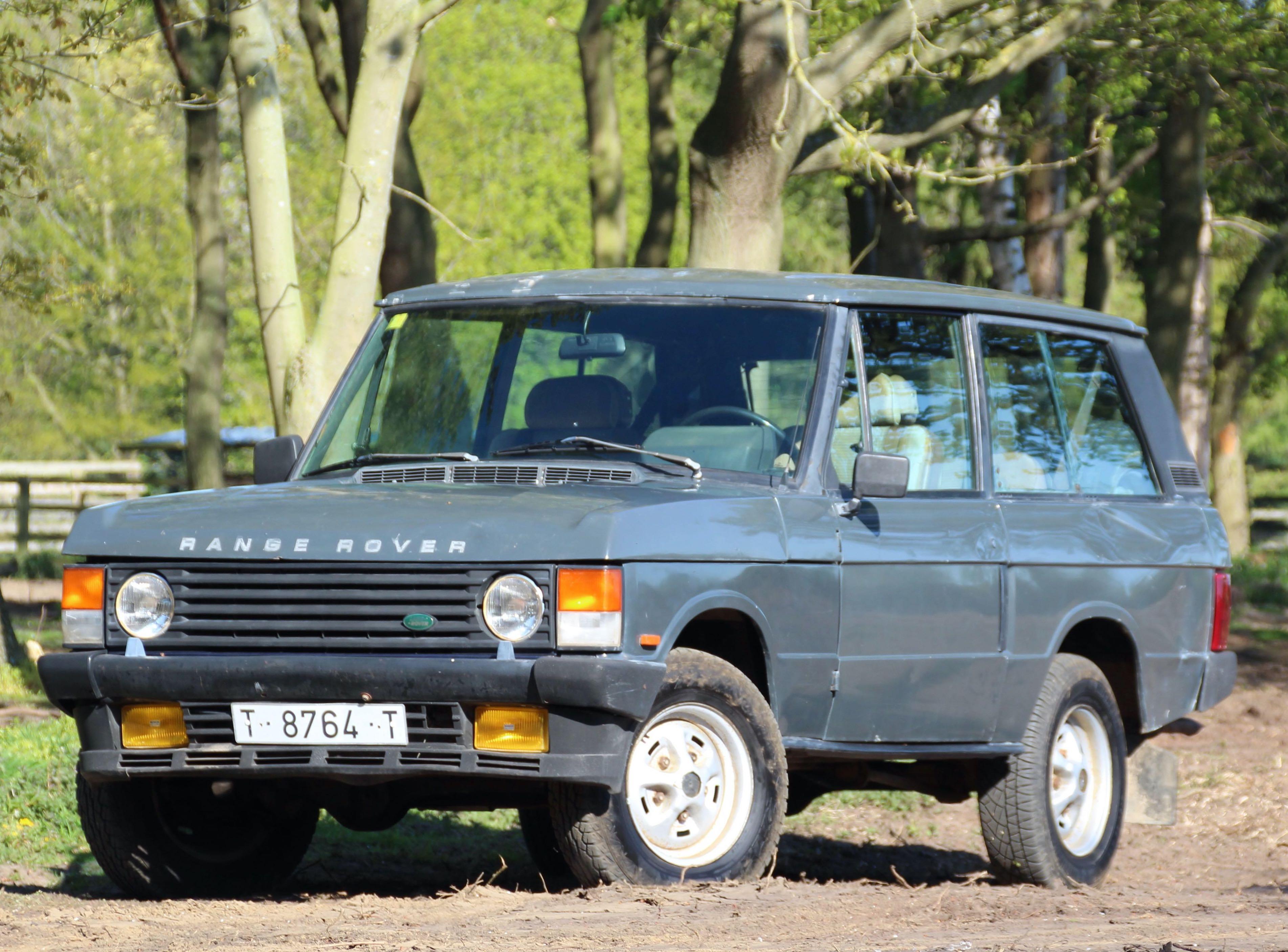1986 Range Rover Classic 2 Door