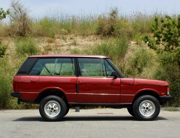 1991 Range Rover Classic 2 Door