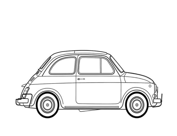 Fiat 500L 1970 RHD
