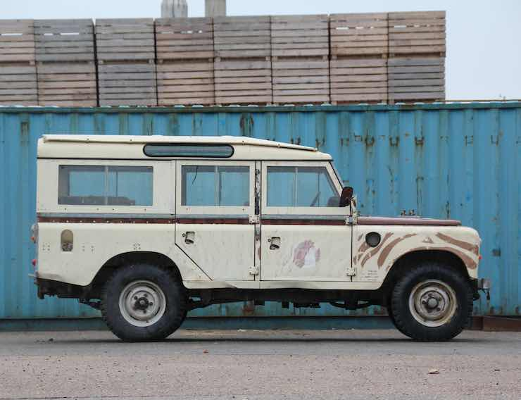 1981 LAND ROVER SERIES III 109 STATION WAGON