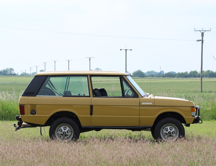 1974 Range Rover Classic Suffix C - Michael Banfield Owned
