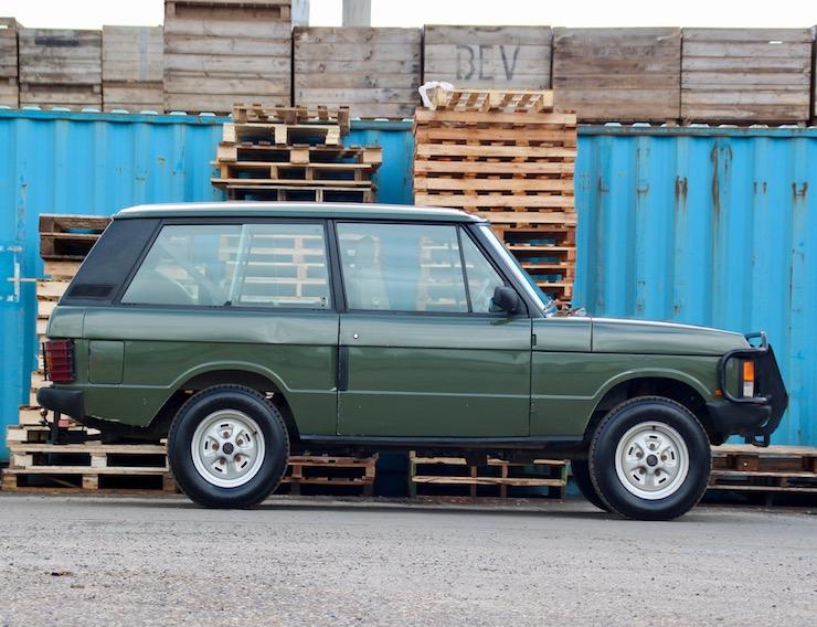 1989 Range Rover Classic 2 Door