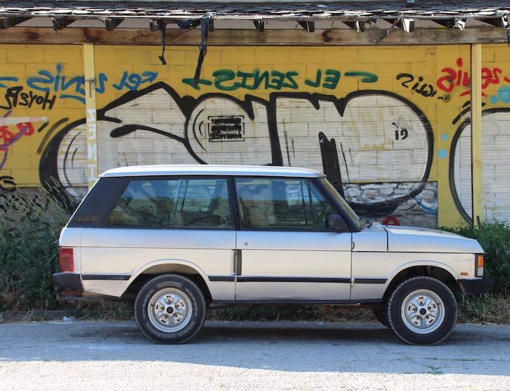 1991 Range Rover Classic 2 Door V8 EFI