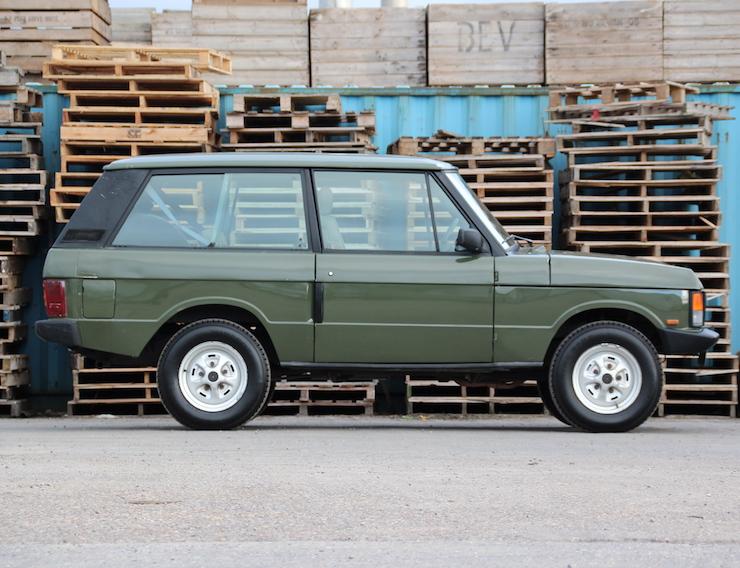 1990 Range Rover Classic 2 Door V8 EFI