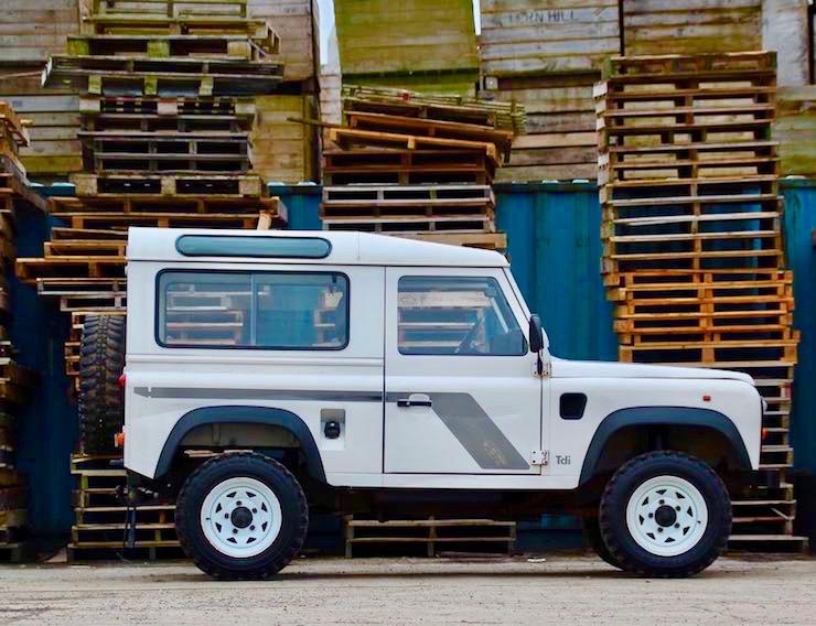 1994 Land Rover D90 300 TDI