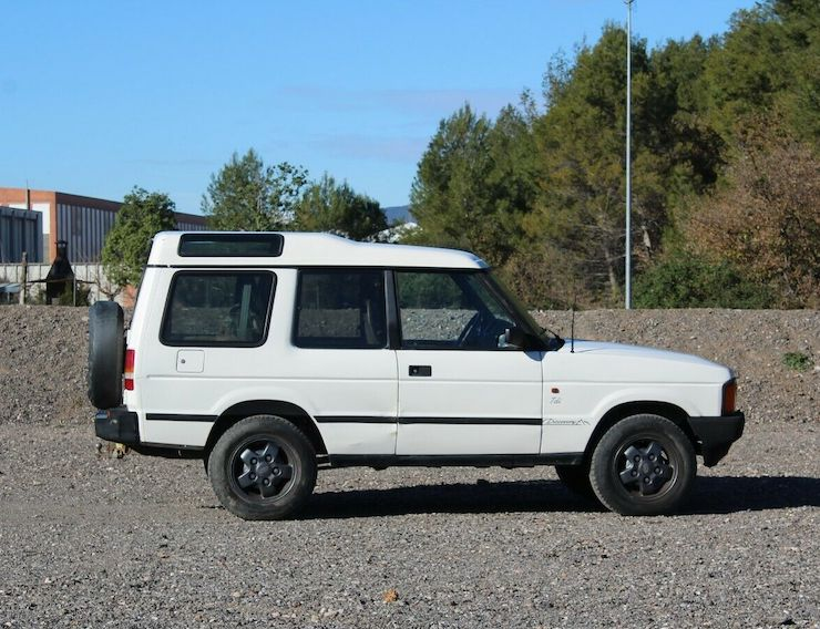 1992 LAND ROVER DISCOVERY 2 DOOR 200 TDI