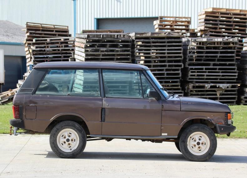 1989 Range Rover Classic 2 Door 3.5 V8 EFI LHD