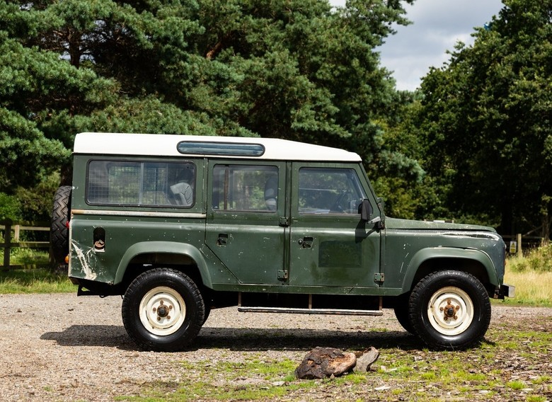 1986 Land Rover 110 Station Wagon 2.5D 12J